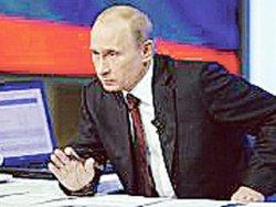 Владимир Путин халыҡ менән аралашты